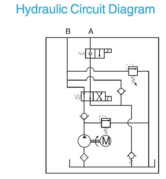 Hydraulic Pump For Dump Trailer 12 Volt Dc Hydraulic Pump For Dump Trailer Jade Crown Hydraulic