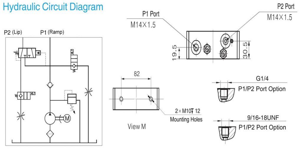 power packs for dock leveler 380v ac electric hydraulic pump jade rh jade crown com Dock Leveler Pit Dock Plate