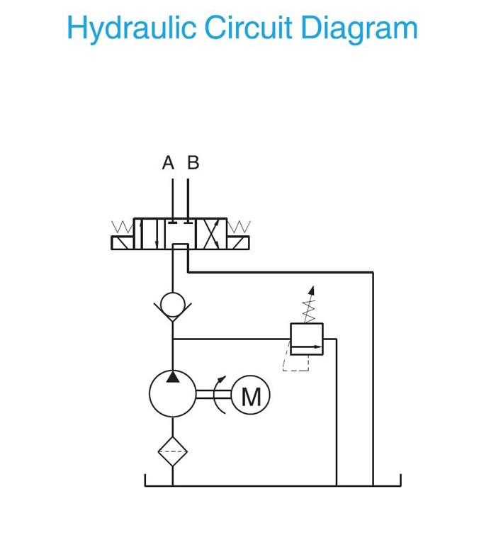 fenner hydraulic pump wiring diagram hydraulic pump