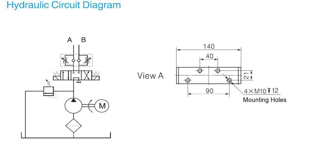 Tipper Trailer Power Unitsdump Hydraulic Pump12v24v Dc. Wiring. Concentric Hydraulic Pump Wiring Diagram At Eloancard.info